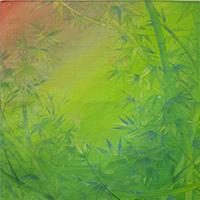 しののめ色の竹林