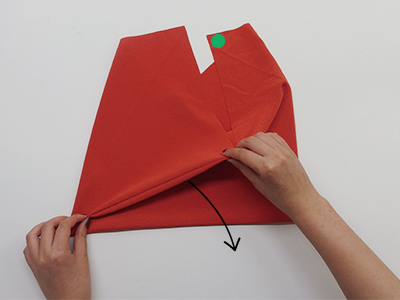 あずま袋畳み方③