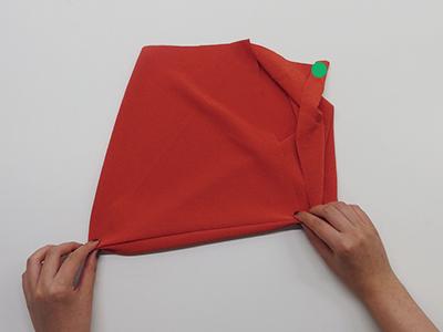 あずま袋畳み方④